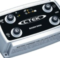 Ctec battery Charger with Solar Panel Regulator Input